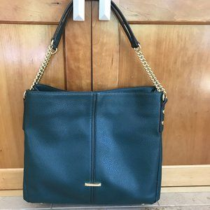 Anne Klein Green Tote with Chain Handles
